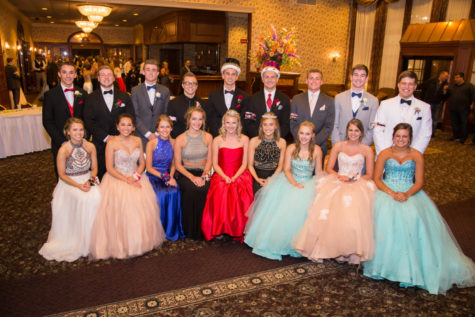 Prom Court Photo Taken At Country Springs Hotel