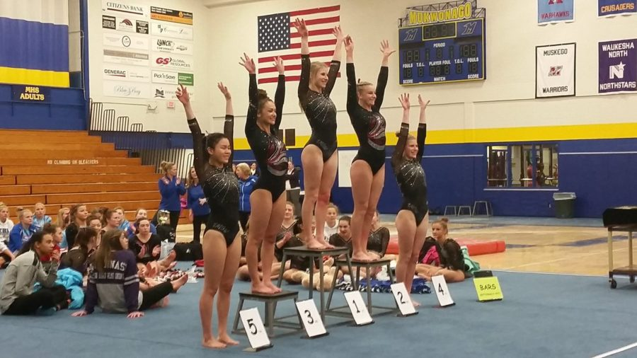 Flipping Over MHS Gymnasts!