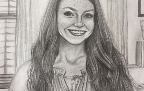 A Talented Student Artist - Melanie Davis