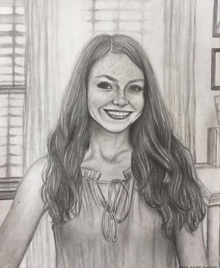 A Talented Student Artist – Melanie Davis