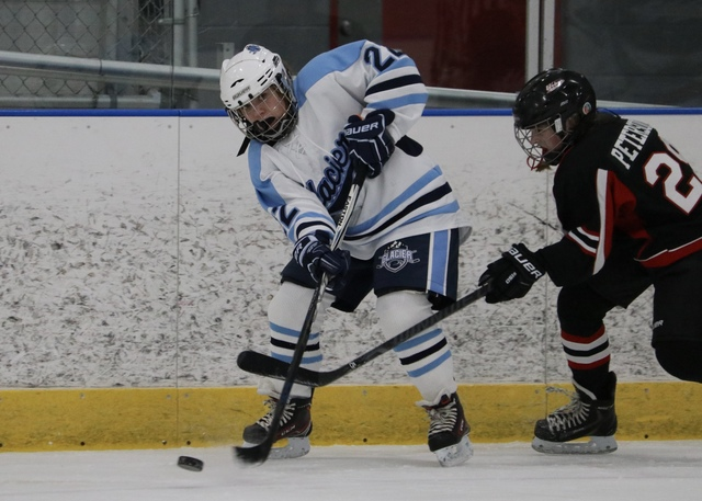 MHS Sophomore Kelsey Hipenbecker playing for the Brookfield Glaciers