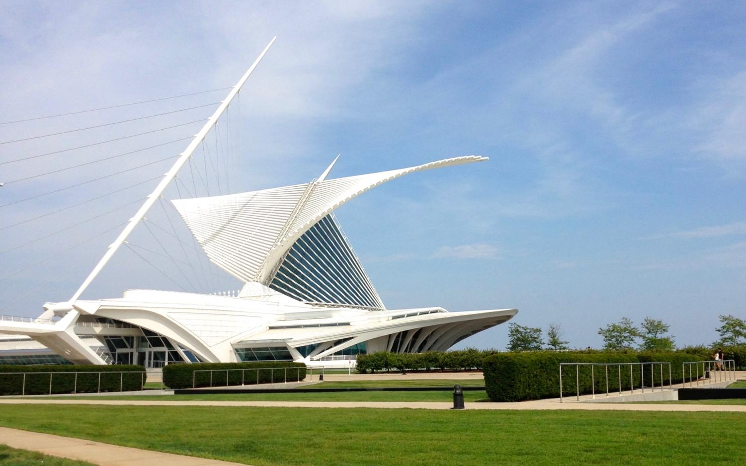 Image of the Milwaukee Art Museum, located in Milwaukee, Wisconsin