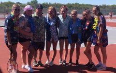 Covid v.s Girls Tennis Team